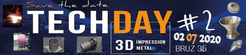 Techday 3D metal