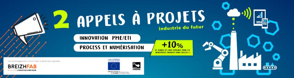 Appel à projets Industrie du Futur