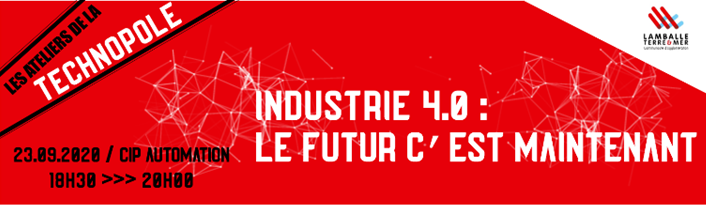 Atelier Industrie 4.0 Technopole Lamballe