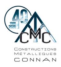 Logo - CMC (Constructions métalliques du Conan)